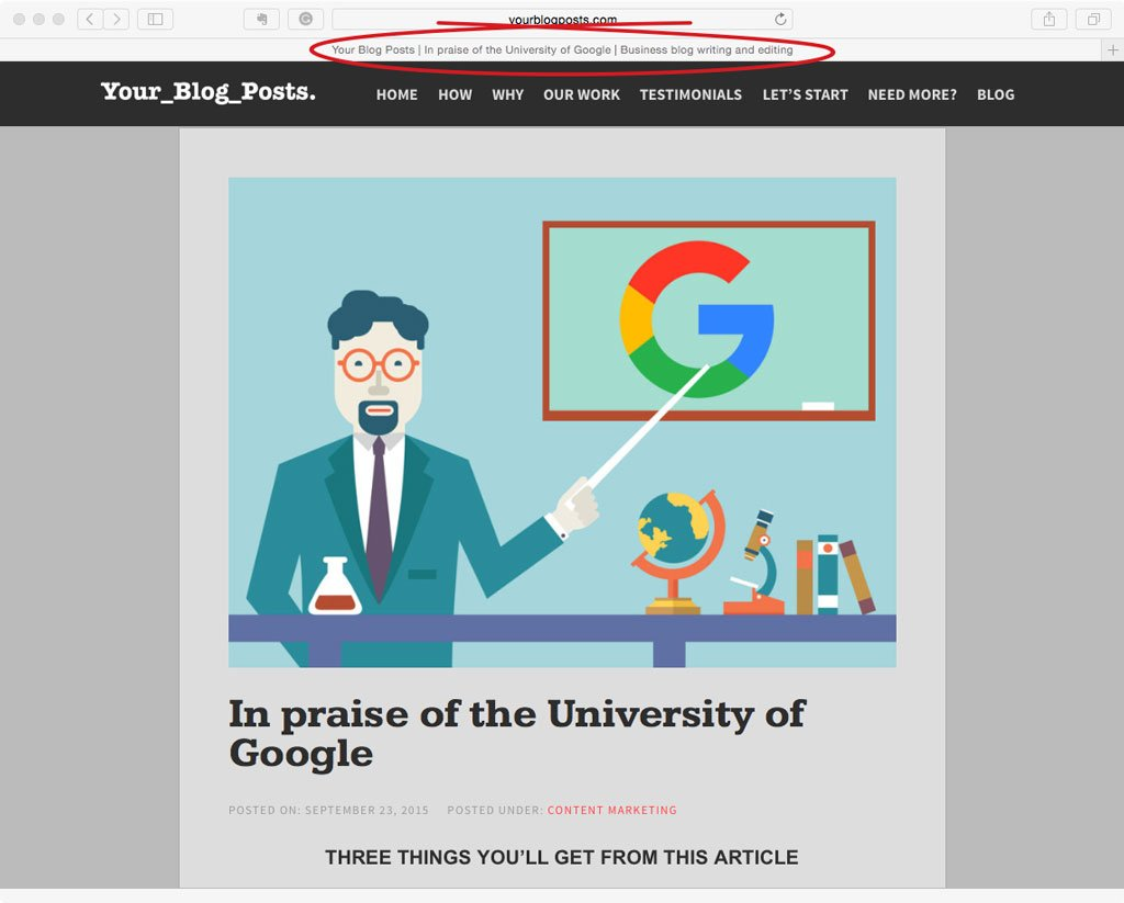 page title pic for SEO marketing